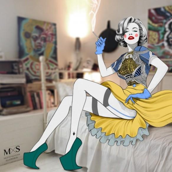 mustafa-soydan-marilyn-monroe