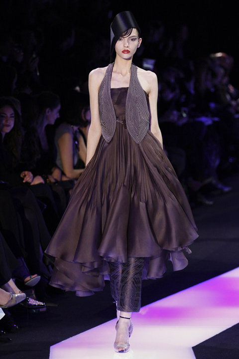 Armani Privé Spring Summer 2013, Haute Couture collection