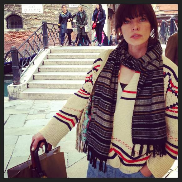 Venice Milla Jovovich's Diary From The Biennale20