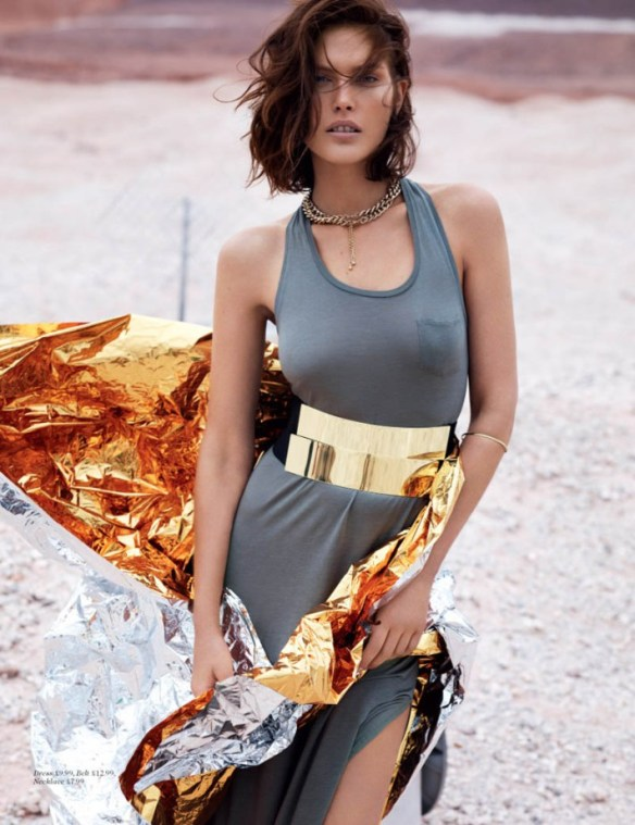 Catherine McNeil by Josh Olins for H&M Magazine Summer 2013.3