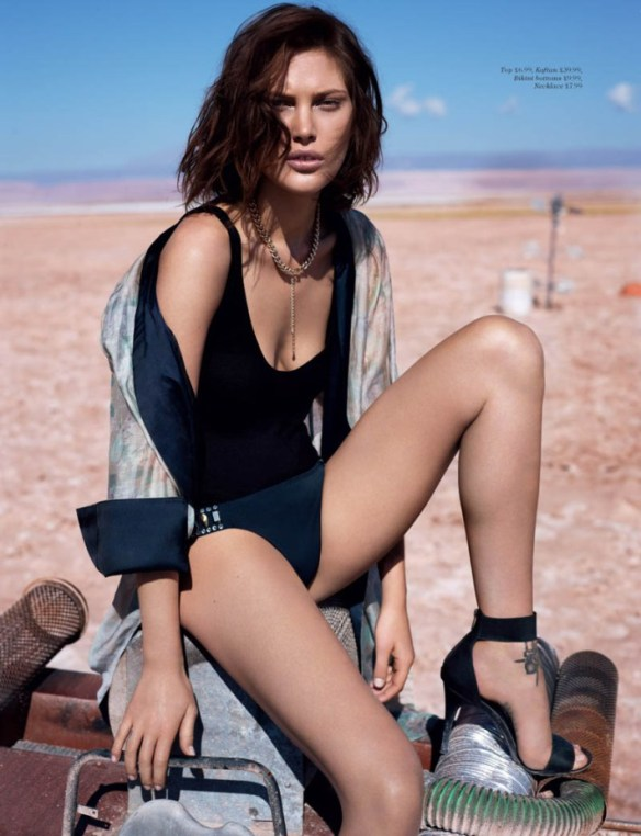 Catherine McNeil by Josh Olins for H&M Magazine Summer 2013.4