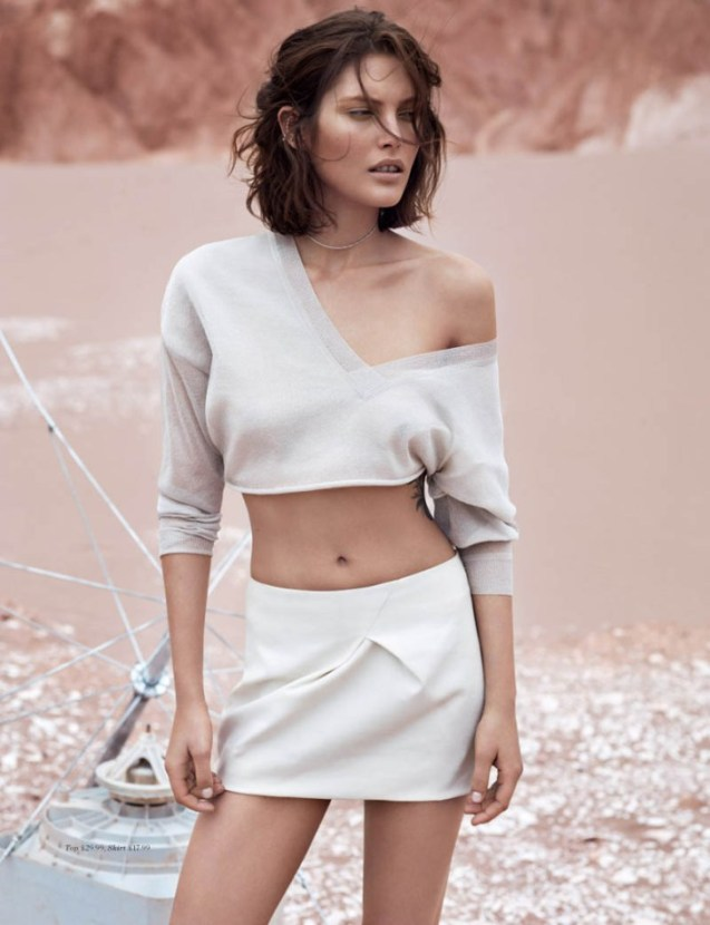 Catherine McNeil by Josh Olins for H&M Magazine Summer 2013.5