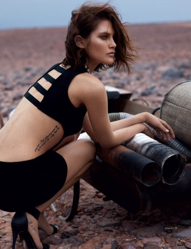 Catherine McNeil by Josh Olins for H&M Magazine Summer 2013.7