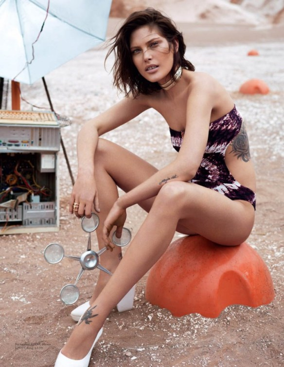 Catherine McNeil by Josh Olins for H&M Magazine Summer 2013.8