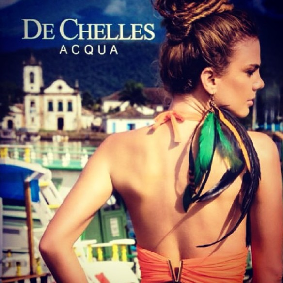 De Chelles | Beachwear Preview | Summer 2014 | Acqua Collection.6