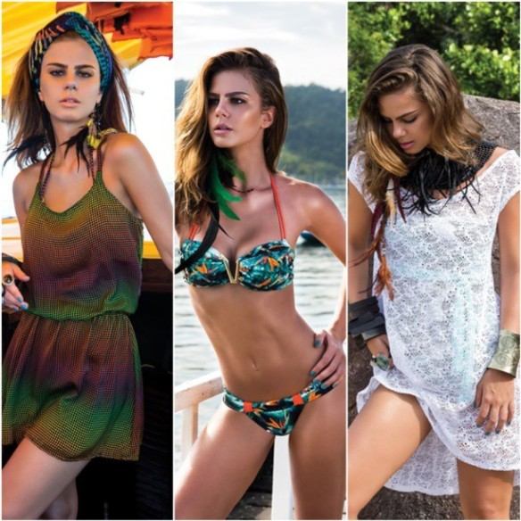 De Chelles | Beachwear Preview | Summer 2014 | Acqua Collection