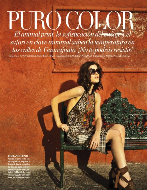 Jana Knauerova by Juan Guillermo Escobar for Vogue Latin America July 2013.1
