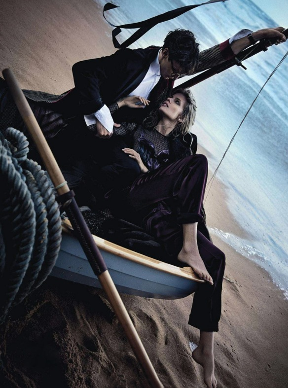 Two If By Sea  Julia Stegner & Eamon Farren By Will Davidson For Vogue Australia  August 2013.4