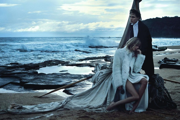 Two If By Sea  Julia Stegner & Eamon Farren By Will Davidson For Vogue Australia  August 2013.9