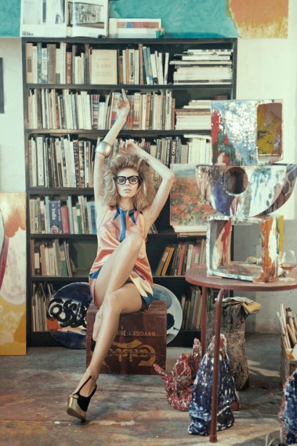 Yasmina M by Daniela Rettore for Bambi Magazine #14.6
