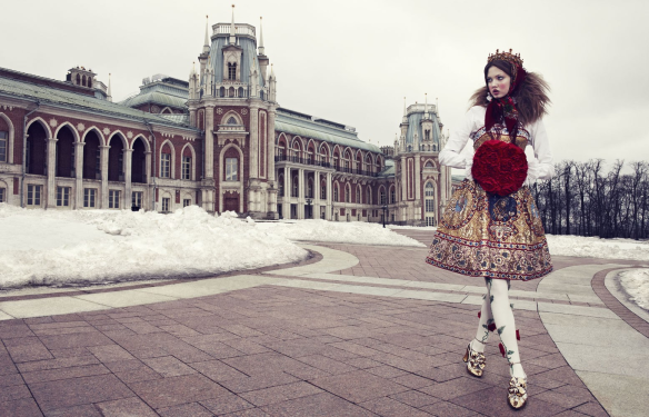 The Anastasia Of Winter Lindsey Wixson By Emma Summerton For Vogue Japan December.2
