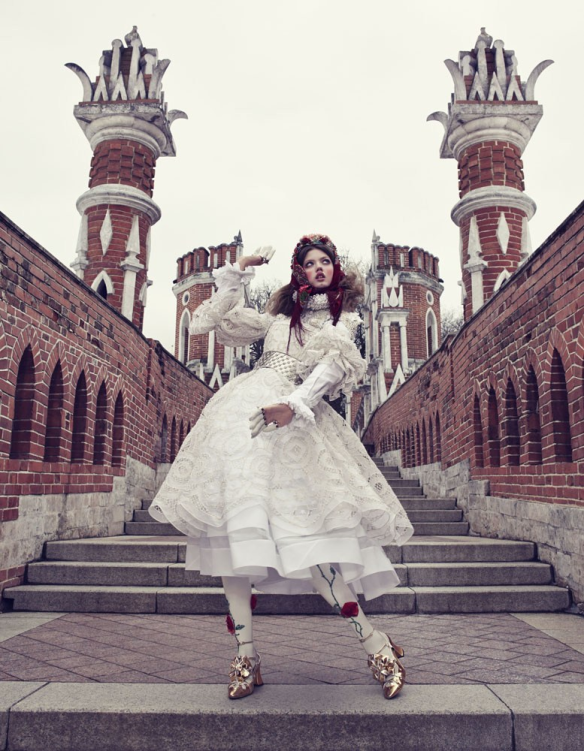 The Anastasia Of Winter Lindsey Wixson By Emma Summerton For Vogue Japan December.3