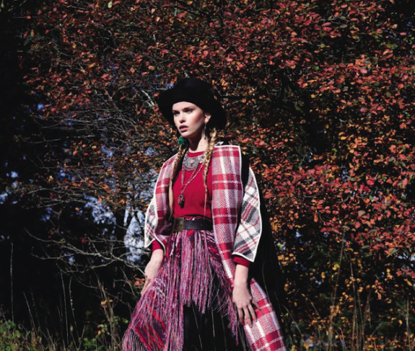 Winter Is Coming Marleen Gaasbeek By Jolijn Snijders For Grazia Spain 23rd October 2013.2