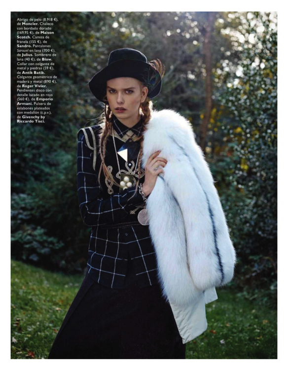 Winter Is Coming Marleen Gaasbeek By Jolijn Snijders For Grazia Spain 23rd October 2013.5