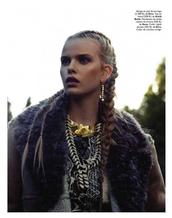 Winter Is Coming Marleen Gaasbeek By Jolijn Snijders For Grazia Spain 23rd October 2013.6