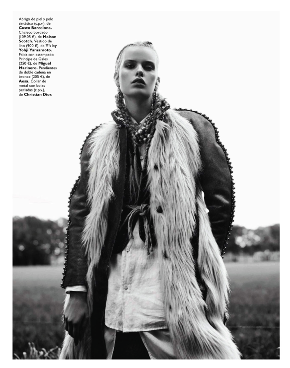 Winter Is Coming Marleen Gaasbeek By Jolijn Snijders For Grazia Spain 23rd October 2013.8