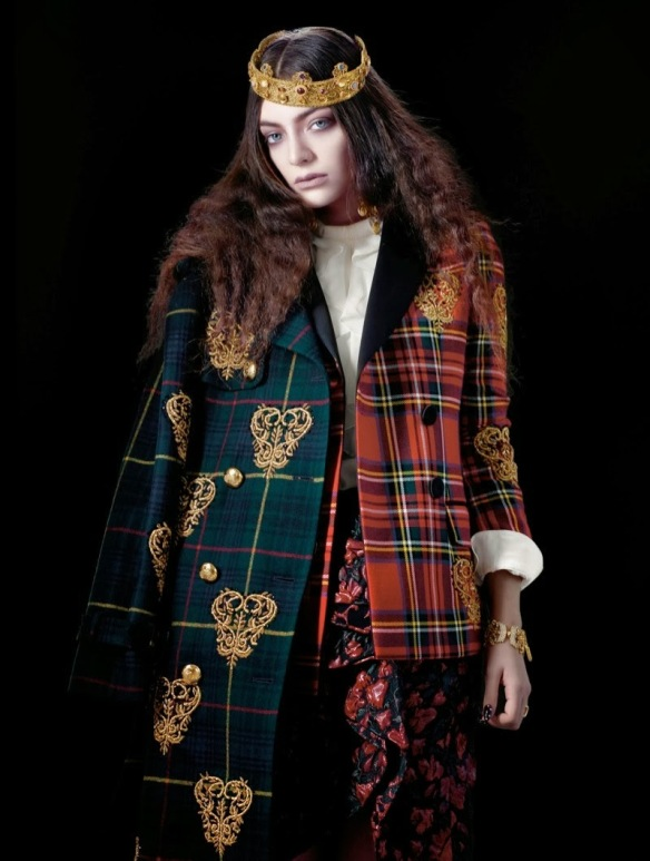Lorde for The Wild Magazine December 2013 3 4