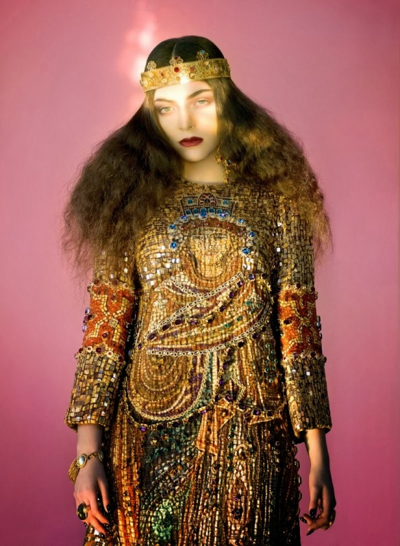 Lorde for The Wild Magazine December 2013 3